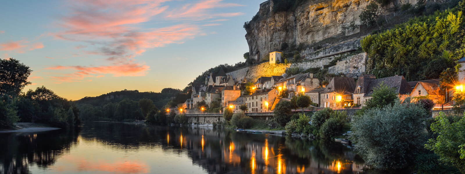 The Dordogne valley